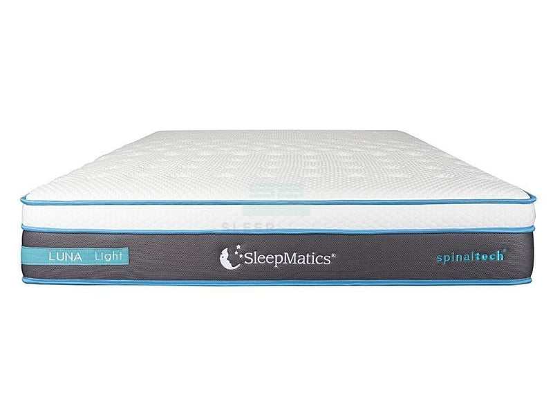 SleepMatics Luna Light Pocketed Spring Luxury Mattress-SleepMatics-Sleep Space