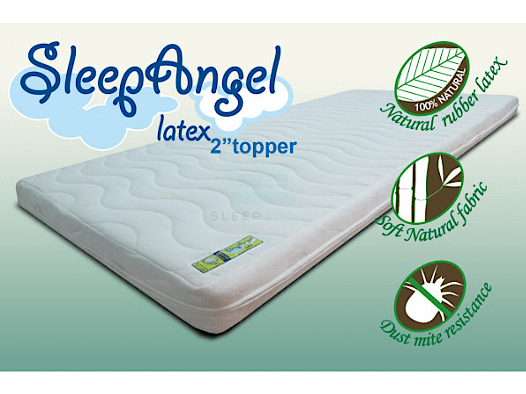 Sleep Angel Natural Latex Topper