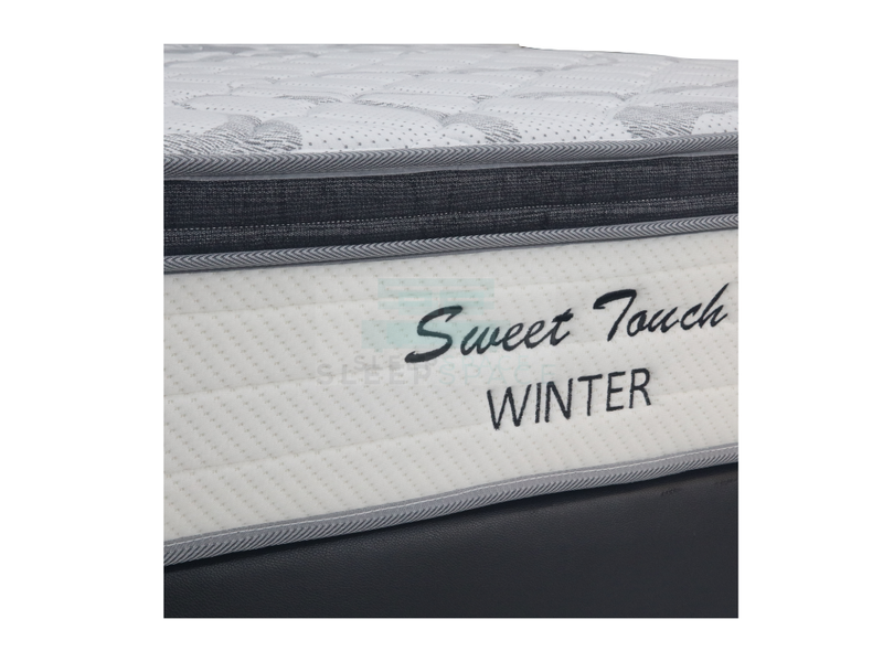 Sweet Touch Plush Top Winter Mattress with Divan Bed Bundle-Sweet Touch-Sleep Space