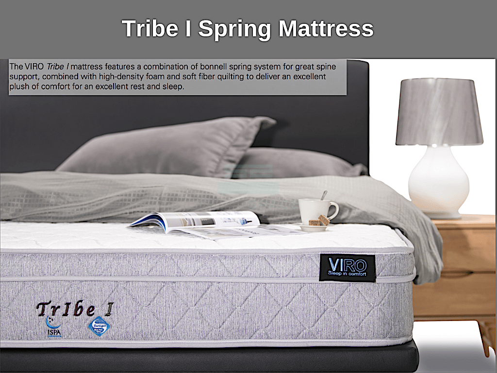 Viro Tribe I Spring Mattress-Viro-Sleep Space