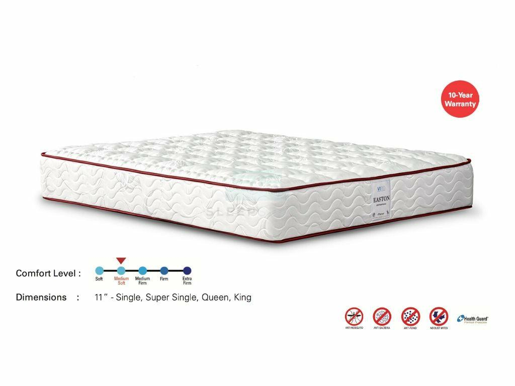 Viro Easton Orthopedic Mattress (Anti Mosquito, 11 inch)-Viro-Sleep Space