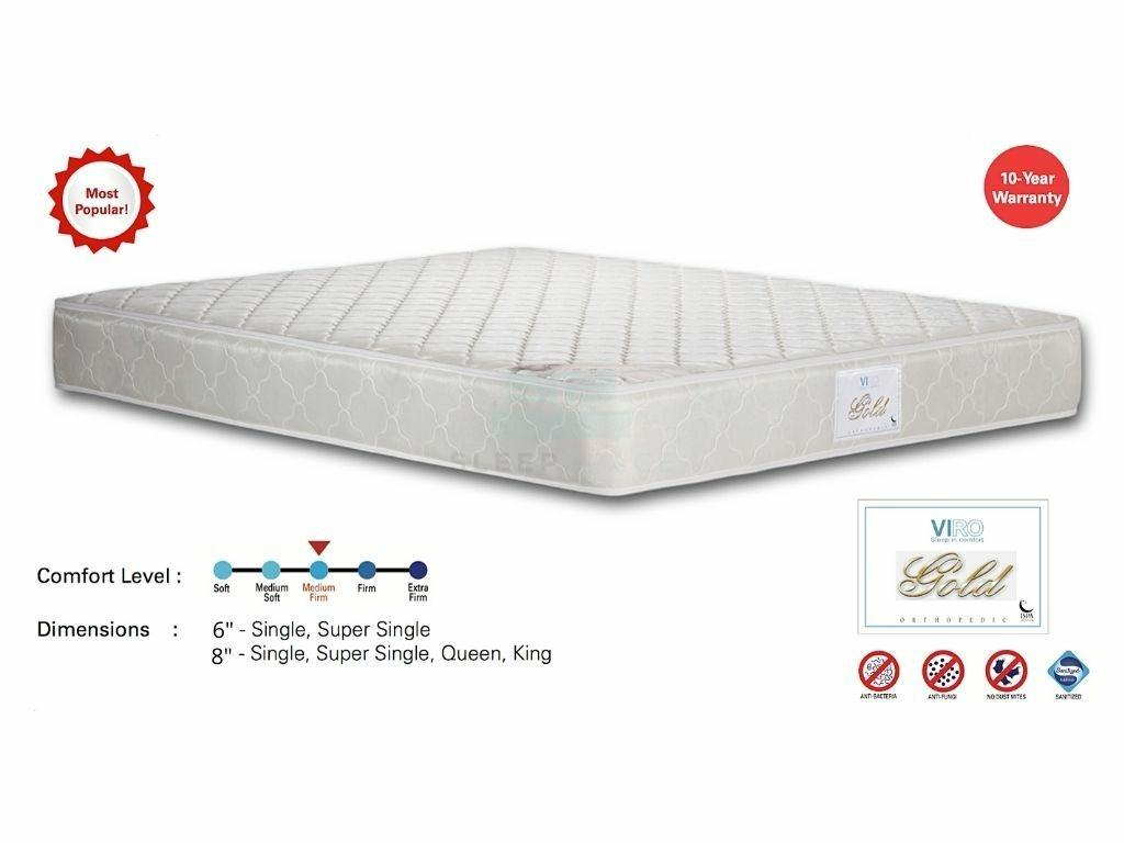 Viro Gold Orthopedic Spring Mattress – Most Popular!-Viro-Sleep Space