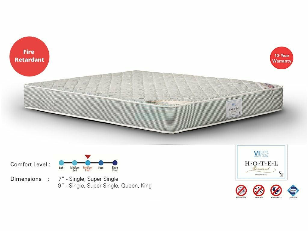 Viro Hotel International Spring Mattress-Viro-Sleep Space