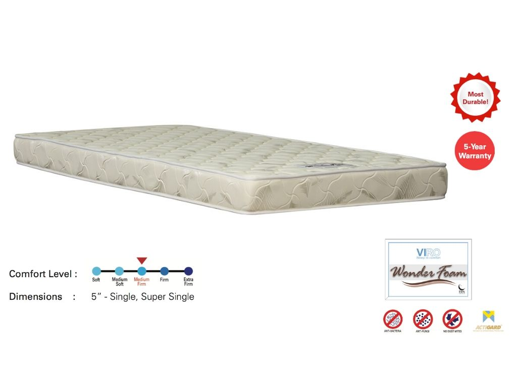 Viro Wonder Foam Mattress-Viro-Sleep Space