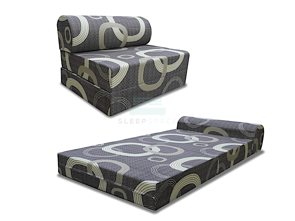 Viro Fabric SofaBed-Viro-Sleep Space