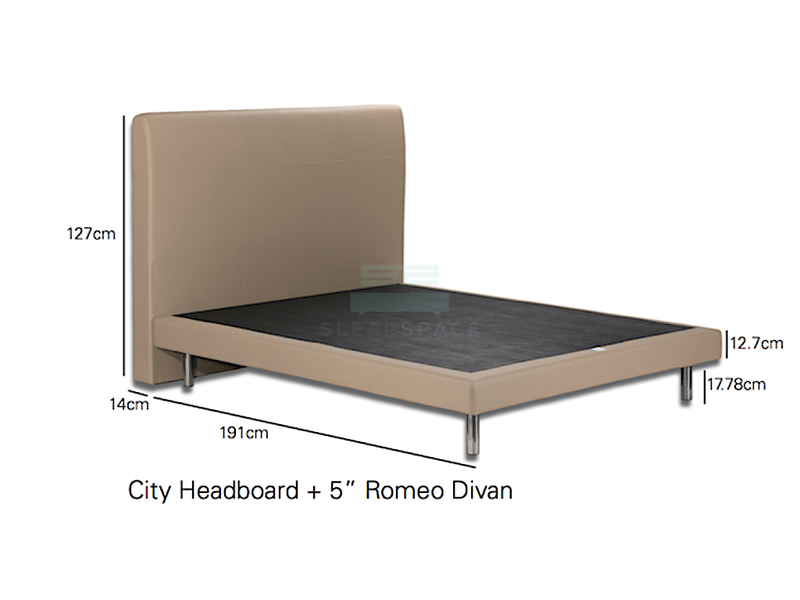 Romeo Divan Bed-Viro-Sleep Space
