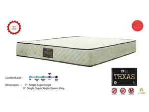 Viro Texas Orthopedic Spring Mattress-Viro-Sleep Space