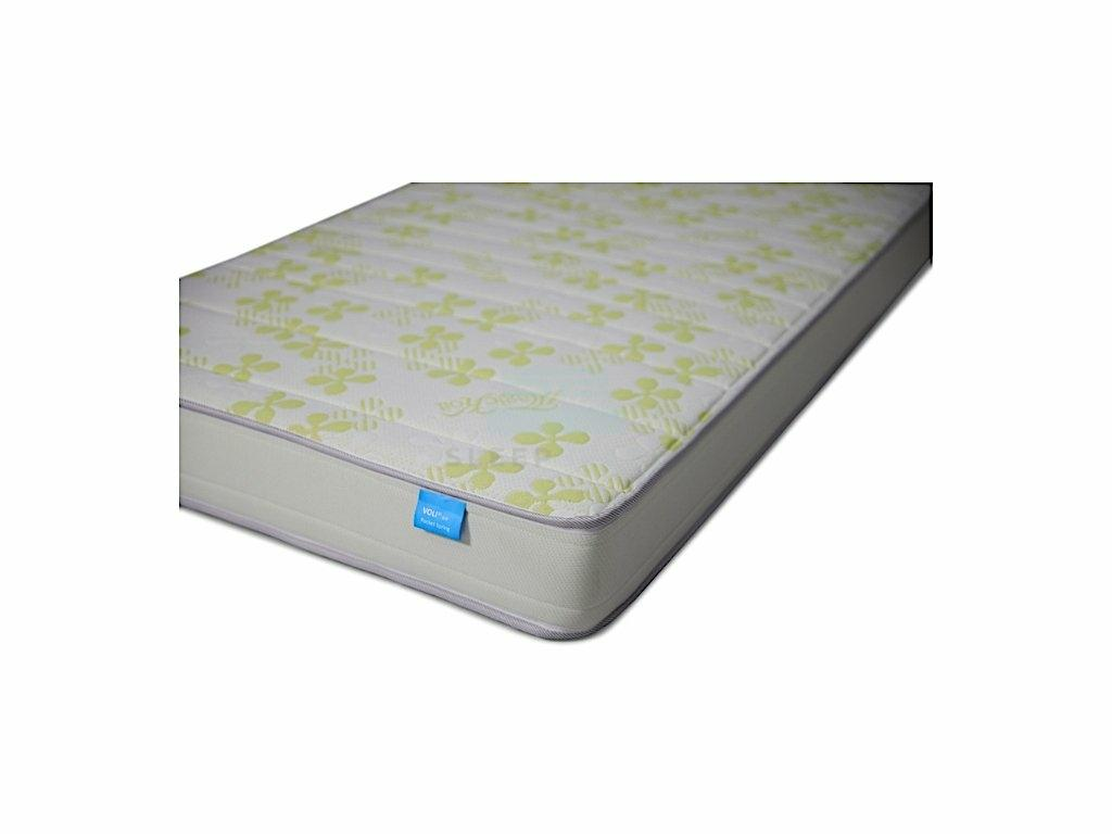 Voli Air Individual Barrel Pocketed Spring Mattress (6″)-voli-Sleep Space