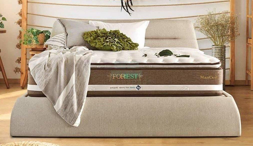 MaxCoil Forrest Eco Organic Cotton III Pocketed Spring Mattress (Latex + Memory Foam)-Maxcoil-Sleep Space