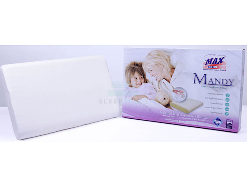 Maxcoil Mandy Memory Foam Pillow-Maxcoil-Sleep Space
