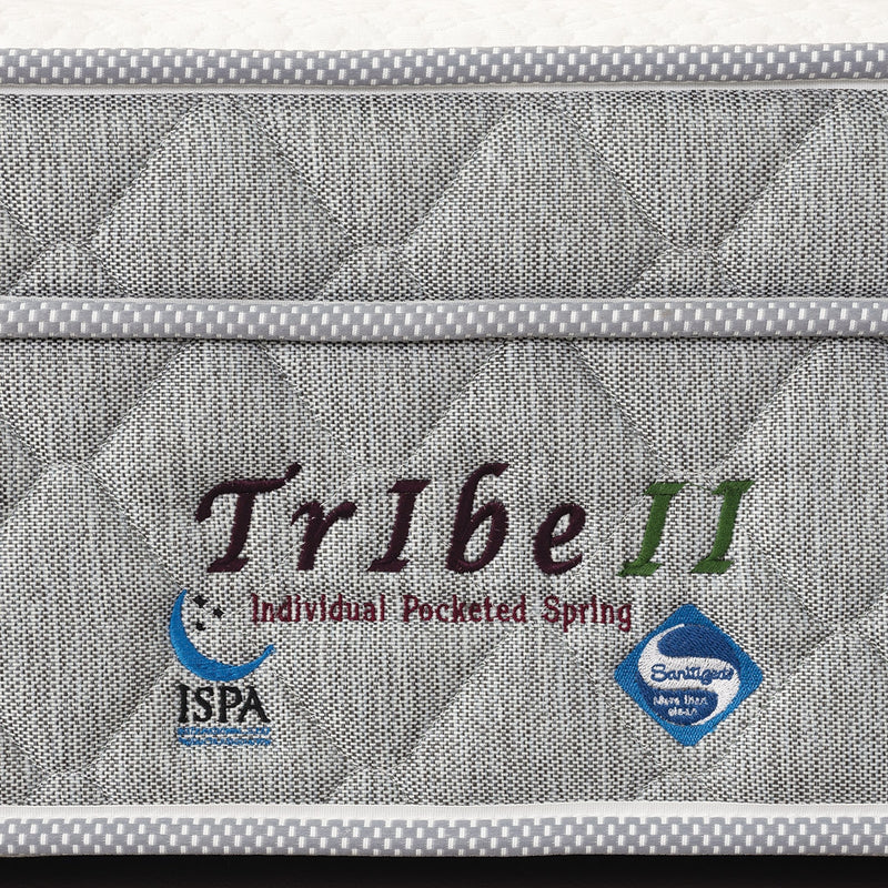 Tribe II Pocketed Spring Mattress-Viro-Sleep Space