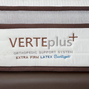 Viro Verte Plus Orthopedic Firm Mattress (10 inch)-Viro-Sleep Space