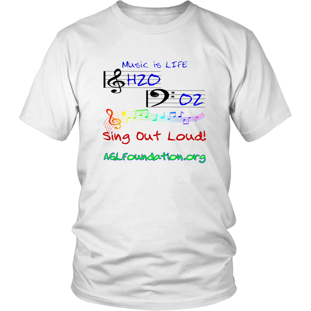 AGL Foundation Music is Life Tee