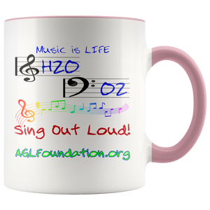 AGL Foundation Music is Life Coffee Mug