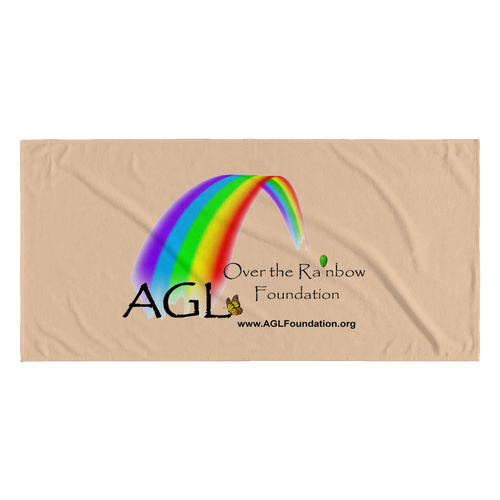 AGL Over the Rainbow Foundation Beach Towel