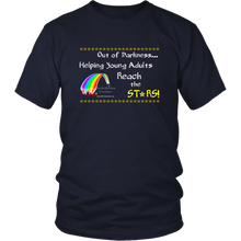 Load image into Gallery viewer, AGL Foundation Reach the Stars T-shirt