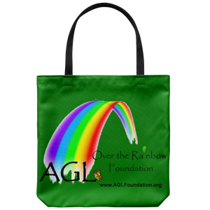 AGL Over the Rainbow Foundation Canvas Tote