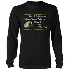 Load image into Gallery viewer, AGL Foundation Reach the Stars Long Sleeve Shirt