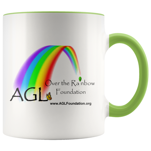 AGL Over the Rainbow Foundation Accent Coffee Mug