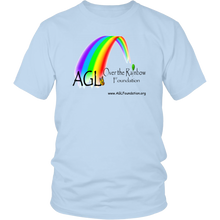 Load image into Gallery viewer, AGL Over the Rainbow Foundation T-Shirt