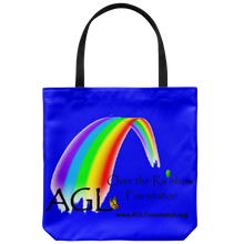 Load image into Gallery viewer, AGL Over the Rainbow Foundation Canvas Tote