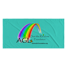 Load image into Gallery viewer, AGL Over the Rainbow Foundation Beach Towel
