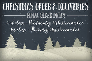 Christmas Deliveries - All the info you need is here!!