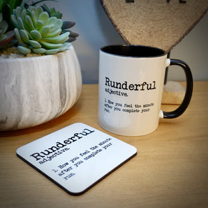 New Runderful Mug and Coaster Sets