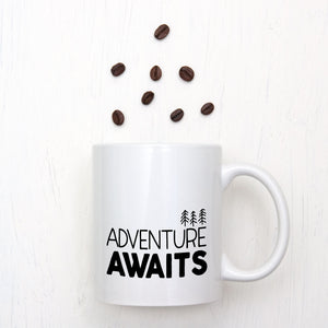 Adventure Awaits Forest Mug