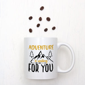 Adventure Is Waiting For You Mug