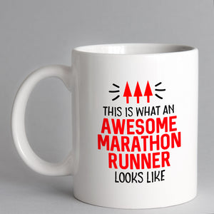 This Is What An Awesome Marathon Runner Looks Like Mug