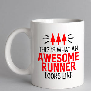 This Is What An Awesome Runner Looks Like Mug
