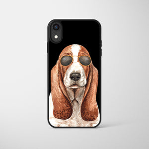 Personalised Character Watercolour Dog Phone Cases
