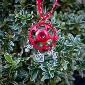 Jockey Wheel Christmas Tree Decoration - Bike Route