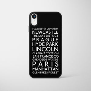 Bus Bind Personalised Phone Case