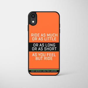 But Ride Classic Merckx Race Edition Phone Case
