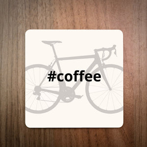 Hashtag Cycling Bike Coaster