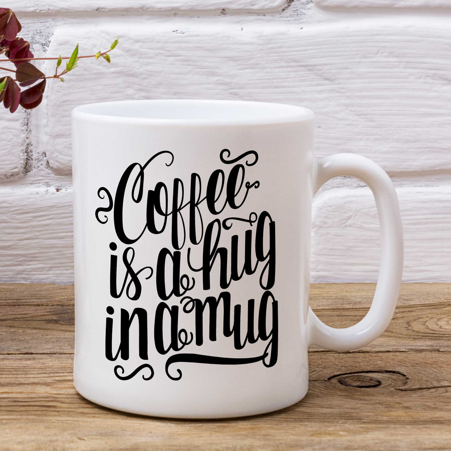 Coffee Is A Hug In A Mug - Mug