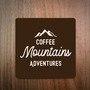 Coffee Mountains Adventures Coaster