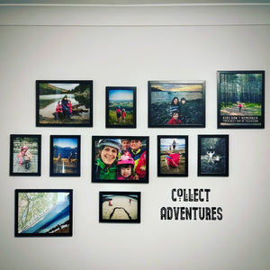 Collect Adventures Vinyl Wall Art