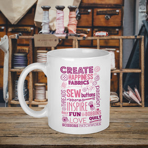 Create Sewing Craft Mug