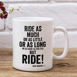 Ride Eddy Merckx Cycling Mug