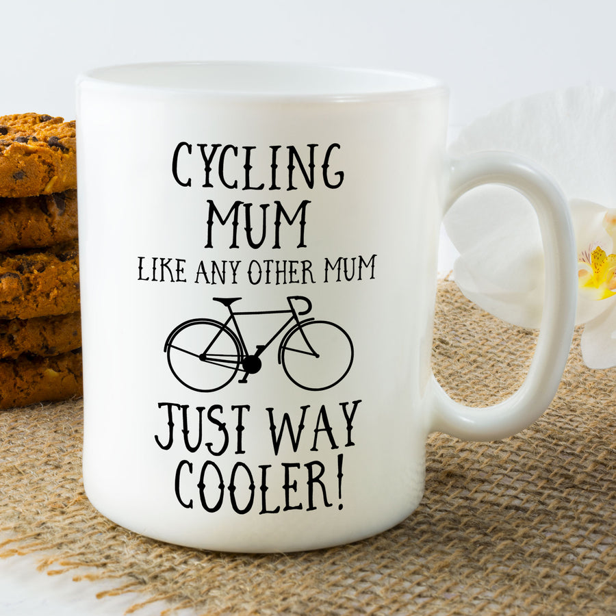 Cycling Mum Mug - Bike