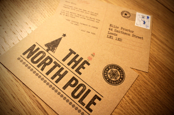 Elf - Personalised North Pole Postcard