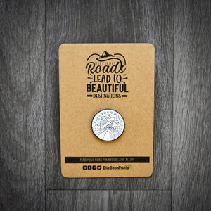 Find Your Road Camper Van Enamel Pin Badge