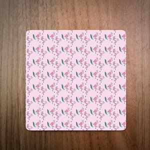 Flamingo Squiggles Coaster Set