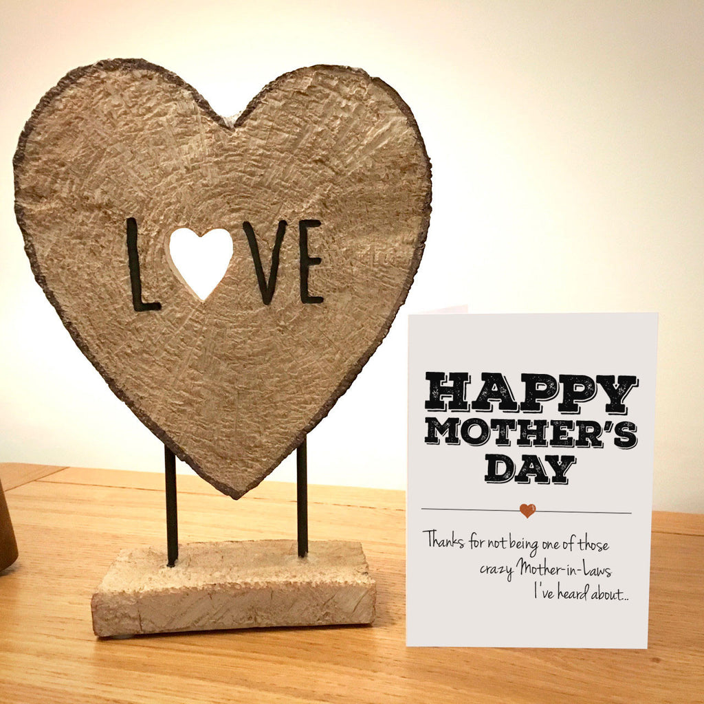 Happy Mother's Day Card - Crazy Mother-in-Law