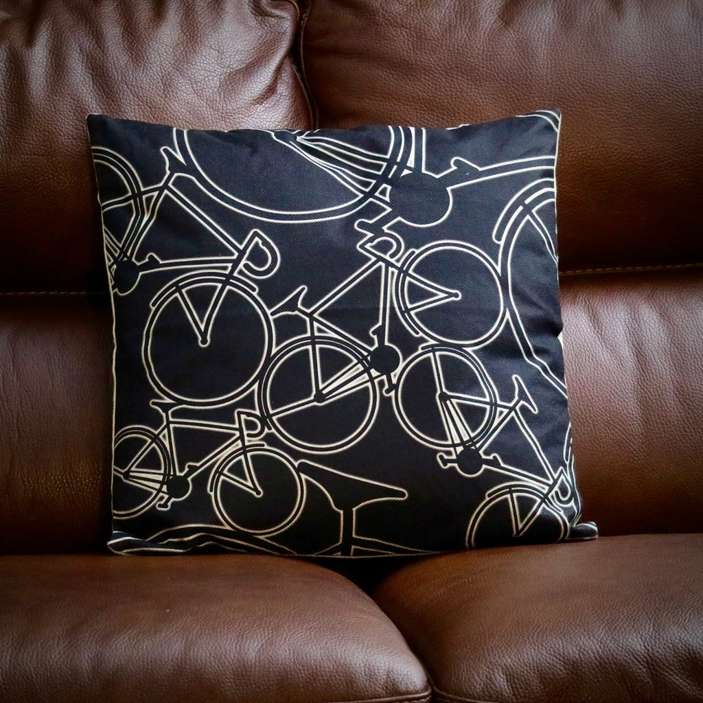 Glow Bikes Road Bike Cycling Cushion Cover