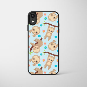Hanging Cute Sloth Phone Case