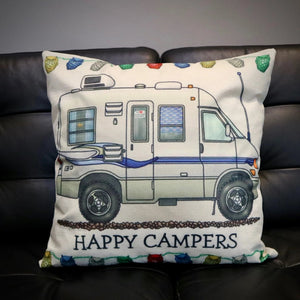 Happy Campers VC Camper Cushion Cover